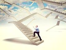 Escada futura Imagens de Stock