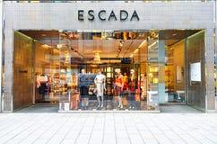 Escada lyxigt modelager Arkivfoto