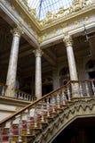Escada no palácio de Dolmabahce, Istambul, Turquia Imagem de Stock