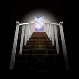 Escada que conduz ao céu Ilustração Royalty Free