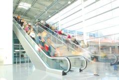 Escada rolante 1 Foto de Stock Royalty Free