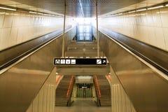 Escada rolante Imagens de Stock Royalty Free