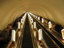 Escada rolante Foto de Stock