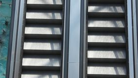 Escada rolante vídeos de arquivo