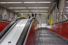 A escada rolante Imagem de Stock Royalty Free