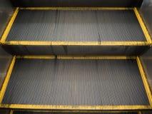 Escada rolante fotografia de stock