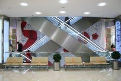 Escada rolante da loja Imagens de Stock Royalty Free
