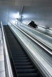 Escada rolante do aeroporto Fotografia de Stock