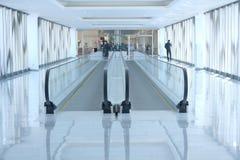 Escada rolante do aeroporto Imagem de Stock Royalty Free