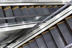 Escada rolante do cruzamento Fotos de Stock Royalty Free