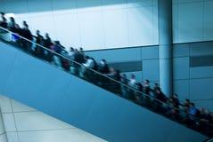 Escada rolante movente Imagem de Stock