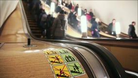 Escada rolante no metro filme
