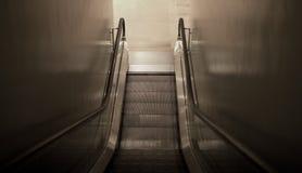 Escada rolante para baixo Foto de Stock Royalty Free