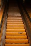 Escada rolante velha imagem de stock
