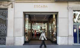 Escada shop Stock Photography