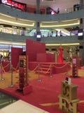 Escada utställning på den Dubai gallerian i Dubai, UAE Arkivbilder