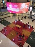 Escada utställning på den Dubai gallerian i Dubai, UAE Arkivbild