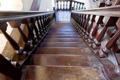 Escada velha Fotos de Stock Royalty Free