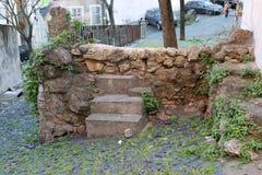 Escada velha Imagens de Stock