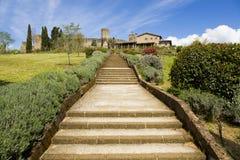 A escadaria Foto de Stock Royalty Free