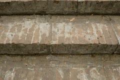 Escadaria antiga do tijolo Foto de Stock Royalty Free