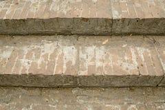 Escadaria antiga do tijolo Imagem de Stock Royalty Free