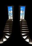 Escadaria ao céu Fotografia de Stock Royalty Free