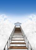 Escadaria ao céu Imagem de Stock Royalty Free