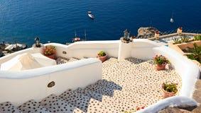 Escadaria ao mar Imagem de Stock Royalty Free