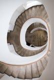 Escadaria arredondada Fotos de Stock
