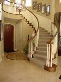 Escadaria bonita com assoalho do mosaico foto de stock royalty free