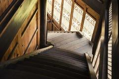 Escadaria chinesa Imagens de Stock Royalty Free