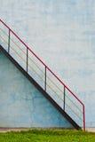 Escadaria com corrimão Foto de Stock Royalty Free