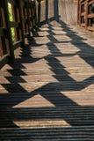 Escadaria com sombra Imagens de Stock Royalty Free