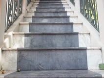 Escadaria concreta como a composição abstrata Imagem de Stock