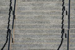 Escadaria concreta imagem de stock royalty free