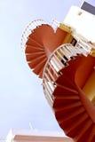 Escadaria cor-de-rosa Fotos de Stock Royalty Free