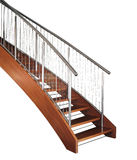 Escadaria curvada Fotografia de Stock