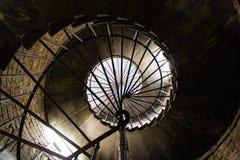 Escadaria da catedral do ` s do St Isaac, StPetersburg foto de stock