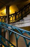 Escadaria da cidade foto de stock