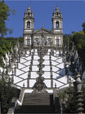Escadaria DA Igreja de Bom Jesús de Braga - Portugal Fotografía de archivo
