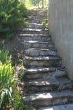 Escadaria da luz solar Imagem de Stock