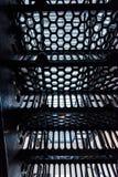 Escadaria da prisão fotografia de stock royalty free