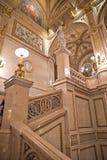 Escadaria da salsicha Staatsoper imagem de stock