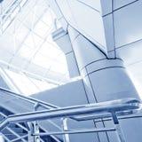 Escadaria de aço moderna Fotos de Stock