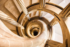 Escadaria de enrolamento fotografia de stock royalty free