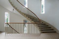 Escadaria de enrolamento Fotos de Stock