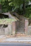 Escadaria de Forboding Fotografia de Stock