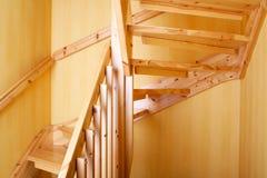Escadaria de madeira Foto de Stock Royalty Free