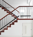 Escadaria de madeira Foto de Stock